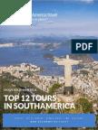 Top 10 Tours in South America E-Book | Download a Free South America Travel E-Book