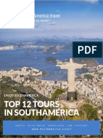 Top 10 Tours in South America E-Book | Download a Free South America Travel E-Book