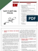 Exame Do Cremesp - Cartilha