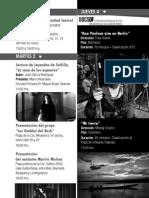 Instituto Municipal Cultura-cartelera Octubre