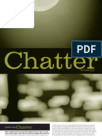 Chatter, October 2012