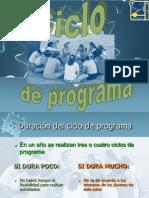Ciclo de Programa TROPA