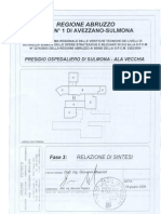 Relazione Di Sintesi-Vecchia Ala PO SULMONA
