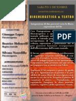 Bioenergetica e Teatro (1 dicembre 2012)