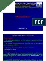 Métodos Eletroanalíticos - Potenciometria