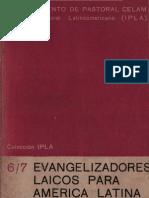 Celam - Evangelizadores Laicos Para America Latina