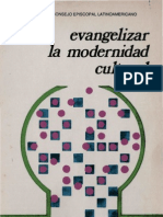 Celam - Evangelizar La Modernidad Cultural