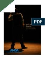 AMDA Course Catalog
