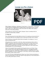 Padre Pio o Sotoni