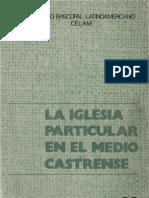 Celam - La Iglesia Particular en El Medio Castrense