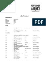 CV Lotte Driessen