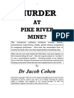 Murder at Pike River Mine