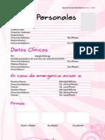 Agenda Zubiria Bachillerato 2012