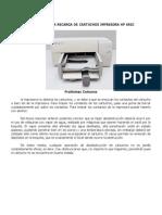 Manual Para La Recarga de Cartuchos Impresora Hp 692c