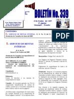 Boletin No 339