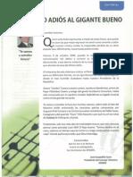 Letras que dedica el maestro José Escajadillo  a Arturo ZAMBO Cavero