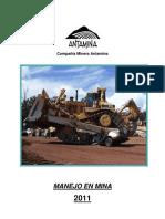 ANTAMINA Manual Manejo en Mina