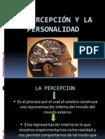 La percepción y la personalidad