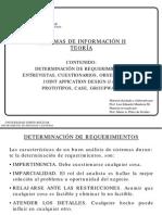 Teoría PS6116 Requerimientos