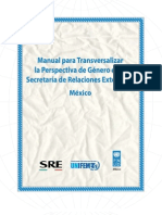 Manual p transversalizr la perspctiva d género-México