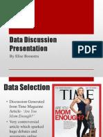 Data Discussion Presentation