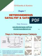 7 Heterogeneous Catalyst