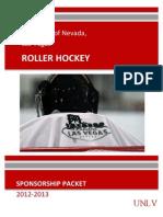 UNLV Roller Hockey Sponsorship Packet