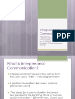 reportoninterpersonalcommunication-120924072315-phpapp02