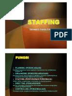 Manajemen-1 Fungsi Staffing