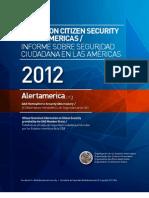 Informe sobre Seguridad Ciudadana en las Americas - 2012