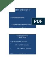 Microsoft Powerpoint - Dacon - Dctf - Dirf 2011 - Sindcont - Sp