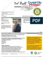 October 10, 2012 Weekly Bulletin - Crystal City-Pentagon Rotary Club