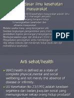 Pendidikan Kesehatan-Promosi Kesehatan