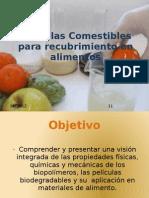 Peliculas Comestibles