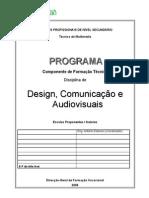 Design,Comunicaá∆o e Audiovisuais