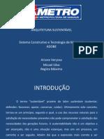 Arquitetura Sustentavel - ADOBE