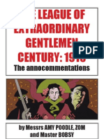 League of Extraordinary Gentlemen - Century 1910 Annocommentations