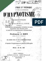 Manuel d Hypnotisme