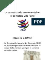 La Influencia Gubernamental en El Comercio Parte 2 - Clase 5