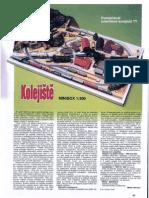 [Paper Model] [Polish] Recortable Diorama Ferroviario