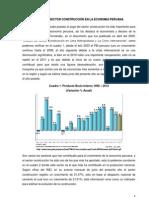 AUGE DEL SECTOR CONSTRUCCIÓN EN EL PERÚ