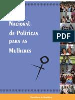 PLANO NACIONAL DE POLÍTICAS P MULHERES