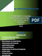 ANTIBIÓTICOS EN OTORRINOLARINGOLOGIA