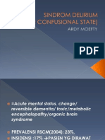 Acute Confusional State by Ardy Moefty