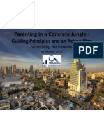 Parenting in a Concrete Jungle - Guiding Principles and Action Plan - Elementary