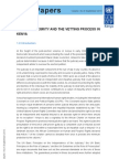 UNDP- Judicial Integrity and the Vetting Process in Kenya