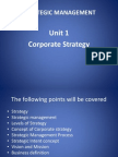 Strategic Management Unit 1