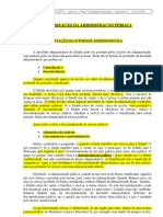 04 - Organização da Adm. Pública, Adm. Direta, Órgão Público, Adm. Indireta, Fundação