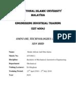 [Sample] - Final EIT Report 1