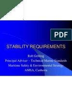 AMSA Stability